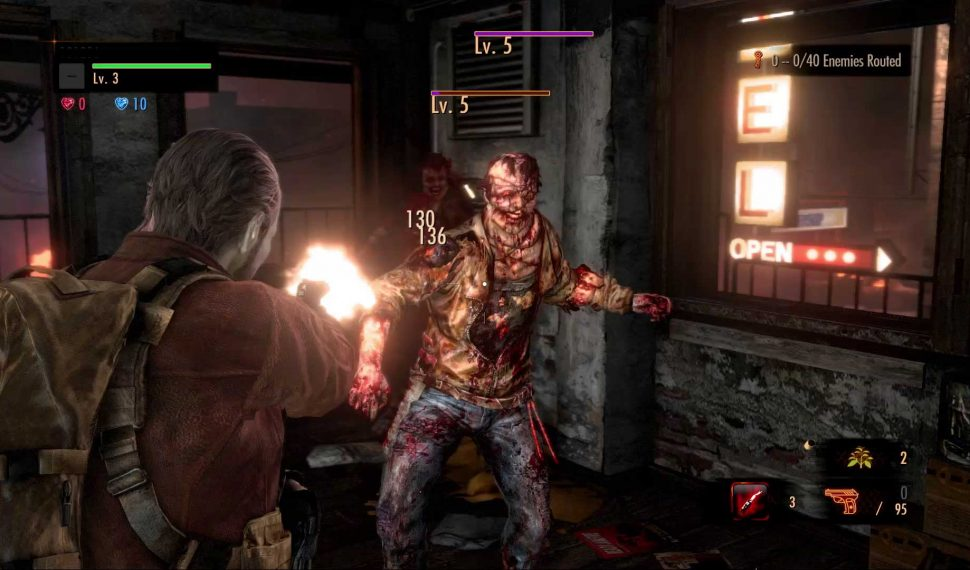 This Resident Evil 2 Biohazard game trainer lets you activate features like unlimited health or one-hit-kills.