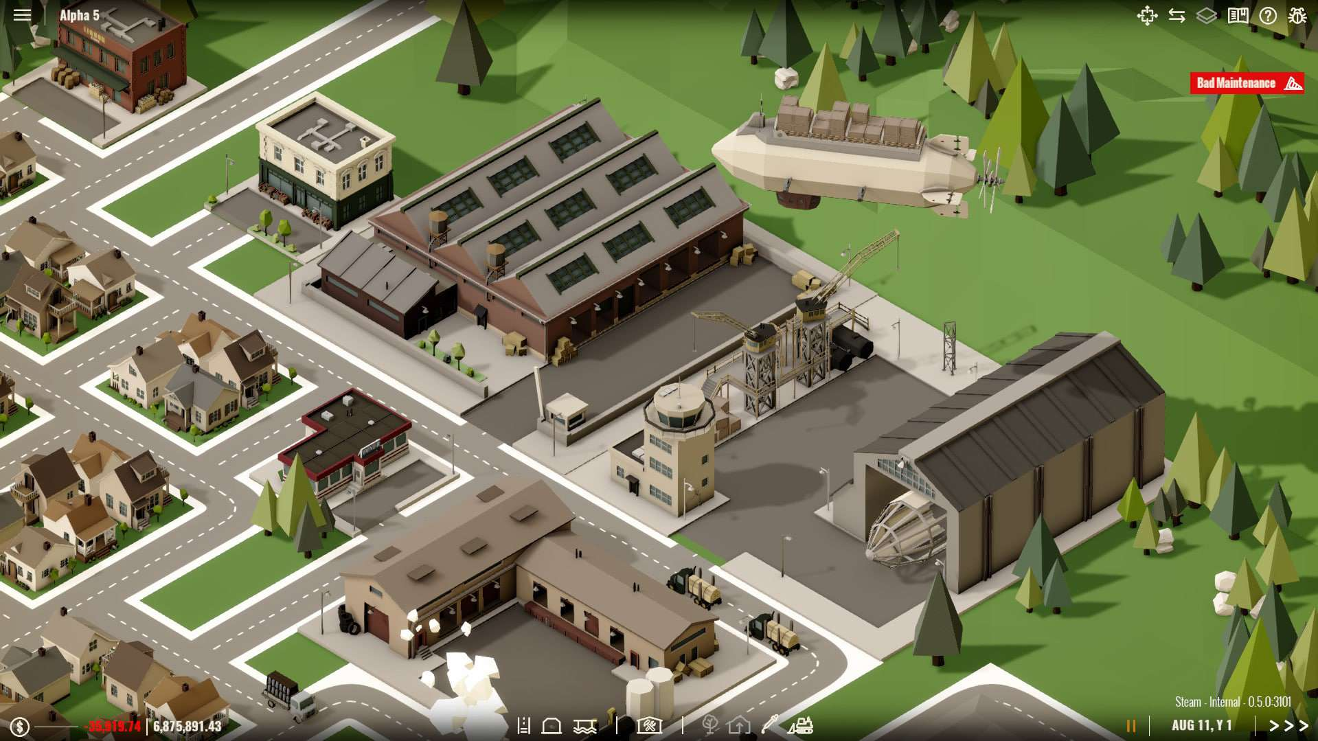 Rise Of Industry PC Trainer Screenshot